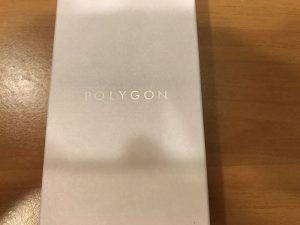 POLYGON-PG02 (Silver/Black)の箱