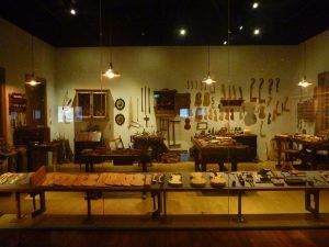 奇美博物館のバイオリン工房