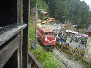 阿里山鉄道の列車
