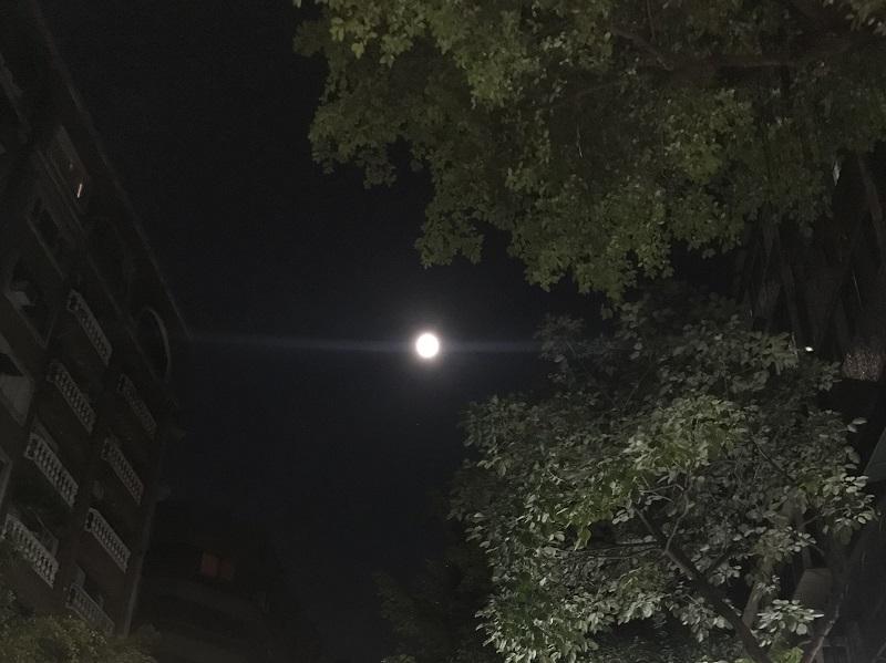 2021年5月26日の満月
